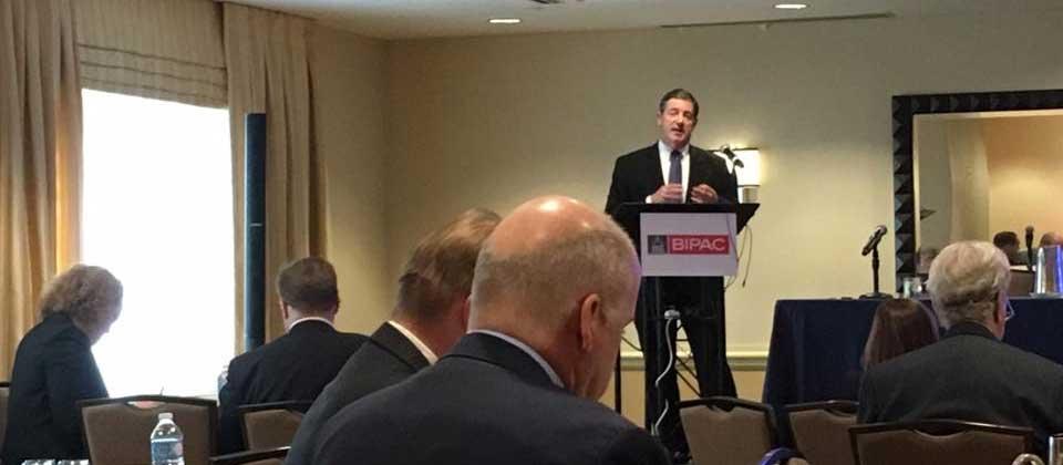 Jim Gerlach Addresses the BIPAC Board